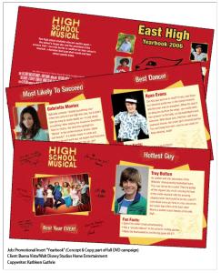 High School Musical insert