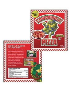 Ninja Turtles DVD package
